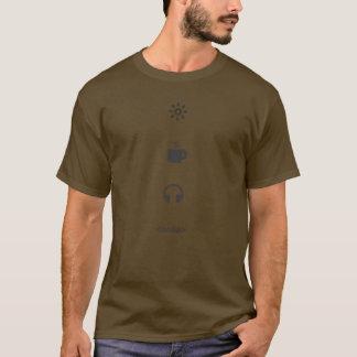 Camiseta Un día en la vida de un programador