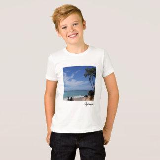 Camiseta Un día melenudo en la playa