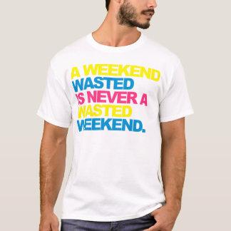 Camiseta Un fin de semana perdido