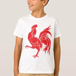 Camiseta Un gallo rojo