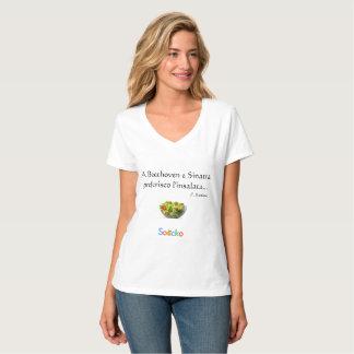 Camiseta Un l'insalata del preferisco de Beethoven e