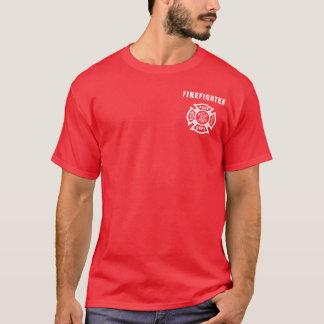 Camiseta Un logotipo del bombero