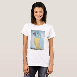 Camiseta Un loro hambriento del Macaw del bebé