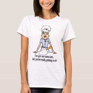 Camiseta un nervio dejado