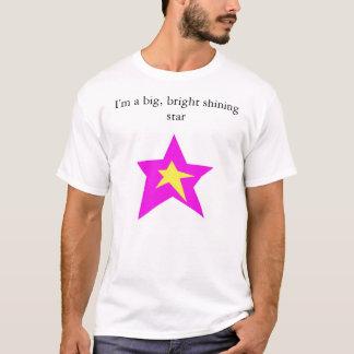 Camiseta Una estrella grande (frente)
