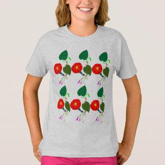 Camiseta UNA flor dulce: Añada su SALUDO/encomio