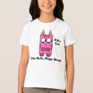 Camiseta Una marca del gato de la caja - los gatos