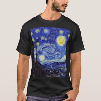 Camiseta Una noche estrellada inspiró productos de la obra