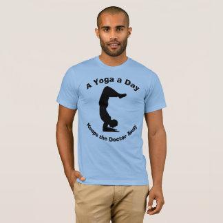 Camiseta Una yoga al día guarda al doctor Away Humorous