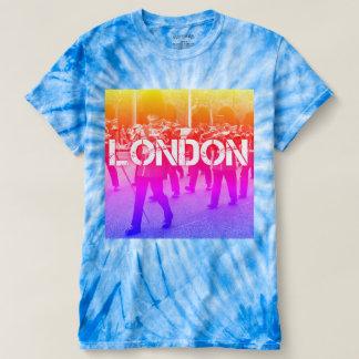 camiseta única de la impresión de Londres del arco