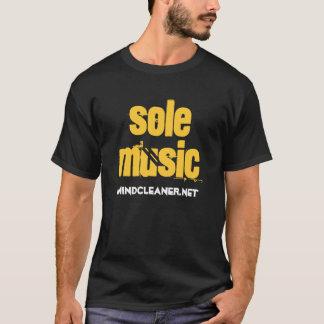 Camiseta Única música - amarillo