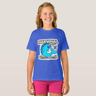 Camiseta Unicornio de Narwhal del mar