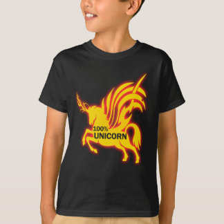 Camiseta Unicornio del 100 por ciento