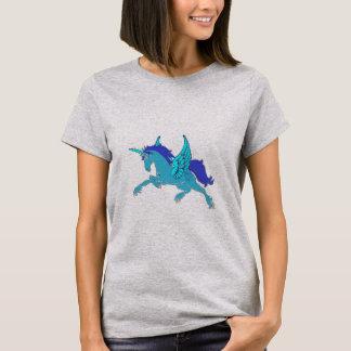 Camiseta Unicornio del elemento del aire