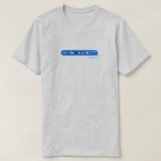 Camiseta unicornio del mono del perro de los emojis