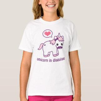 Camiseta Unicornio lindo del bigote