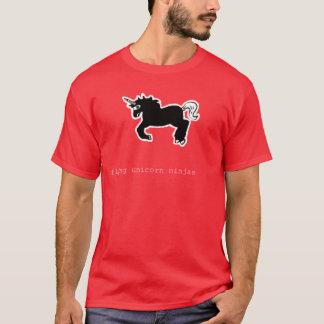 Camiseta Unicornio Ninjas del vuelo