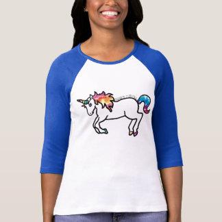 Camiseta Unicornio teñido lazo
