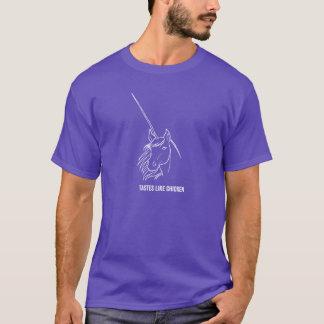 Camiseta Unicornios - los GUSTOS TIENEN GUSTO del POLLO