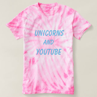 Camiseta Unicornios Y YOUTUBE