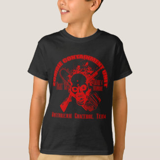 Camiseta Unidad de la contención del zombi - equipo del