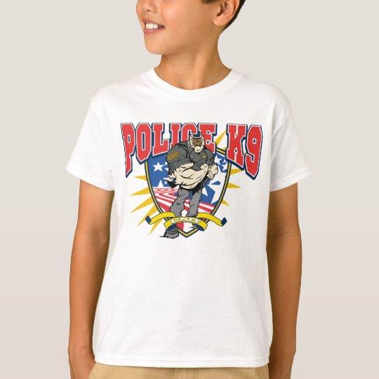 Camiseta Unidad patriótica de la policía K9