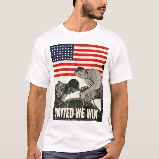 Camiseta Unido ganamos la Segunda Guerra Mundial
