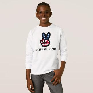 Camiseta UNIDO NOS COLOCAMOS: Signo de la paz