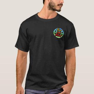 Camiseta Uniforme delantero/trasero de la oscuridad del