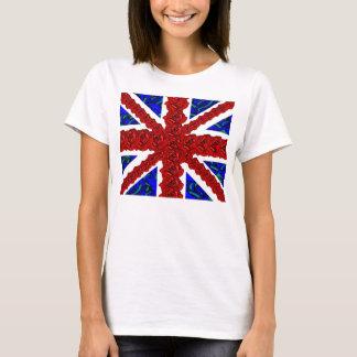 Camiseta Union Jack floral, unionjack fresco, Union Jack de