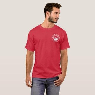 Camiseta unisex con el pequeño logotipo blanco