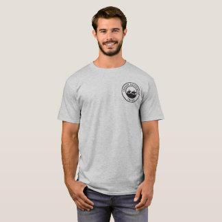 Camiseta unisex con el pequeño logotipo negro
