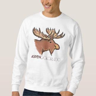 Camiseta unisex de los alces marrones de Aspen