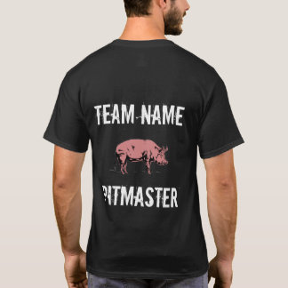 Camiseta unisex de Pitmaster del equipo del Bbq