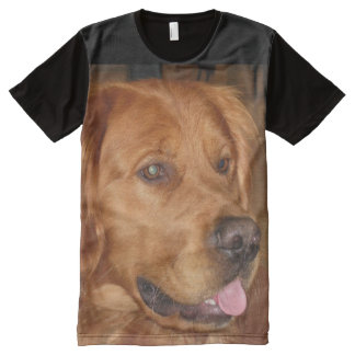 Camiseta unisex del golden retriever