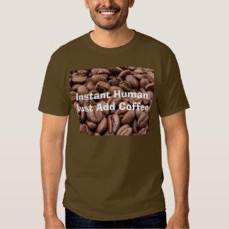 Camiseta unisex del grano de café