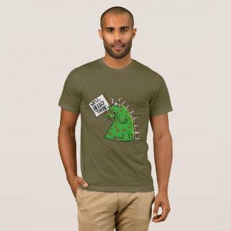 Camiseta unisex oscura de Greep American Apparel
