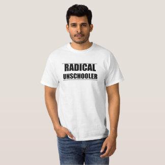 Camiseta unisex radical de Unschooler