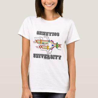 Camiseta Universidad de la genética (réplica de la DNA)