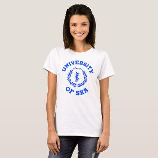 Camiseta Universidad de las señoras de Ska Londres azules