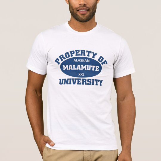 Camiseta Universidad del Malamute de Alaska