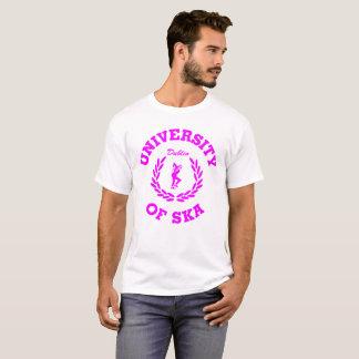 Camiseta Universidad del rosa de Ska Dublín
