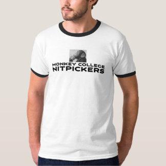 Camiseta Universidad Nitpickers del mono