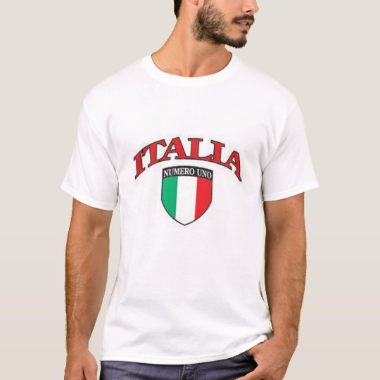 Camiseta Uno de Italia Numero