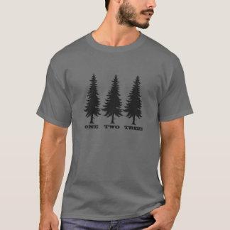 Camiseta Uno, dos, árbol