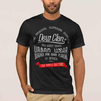 Camiseta urbana del desgaste de Clan™ del rocío de
