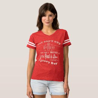 Camiseta Usted alquila solamente éxito