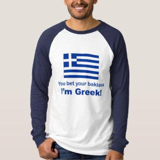 Camiseta Usted apostó su Baklava
