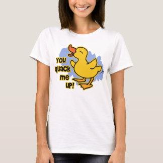 Camiseta ¡Usted curandero yo para arriba!