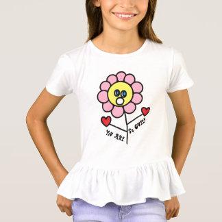Camiseta Usted es dibujo adorable tan lindo de la flor del